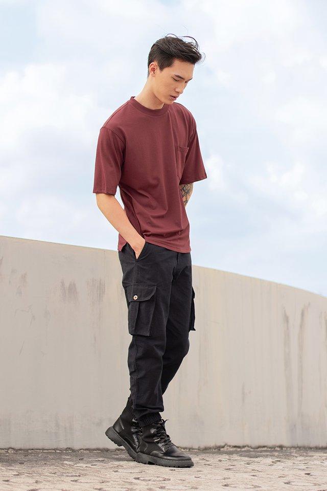 LUCAS POCKET CARGO PANTS #MADEBYLOVET (BLACK) *RESTOCKED*