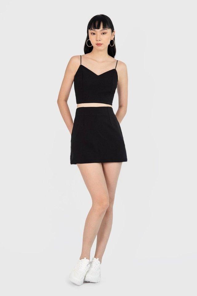 Yura Basic Skorts (Black)